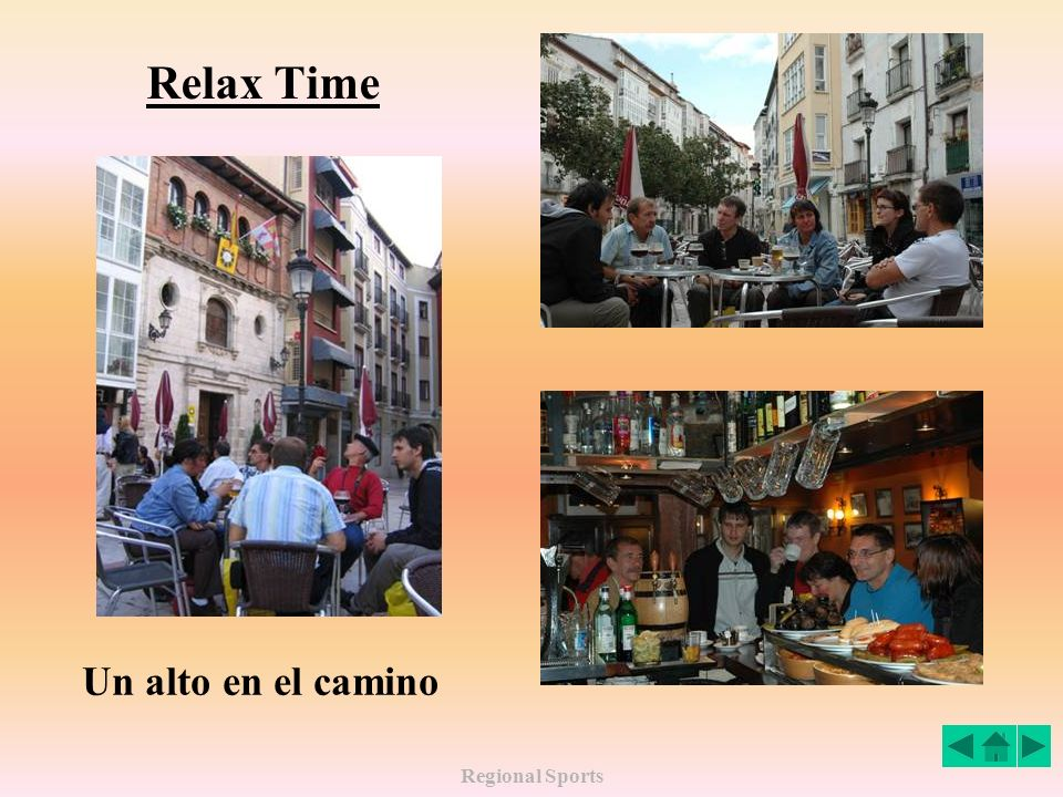 Regional Sports Relax Time Un alto en el camino