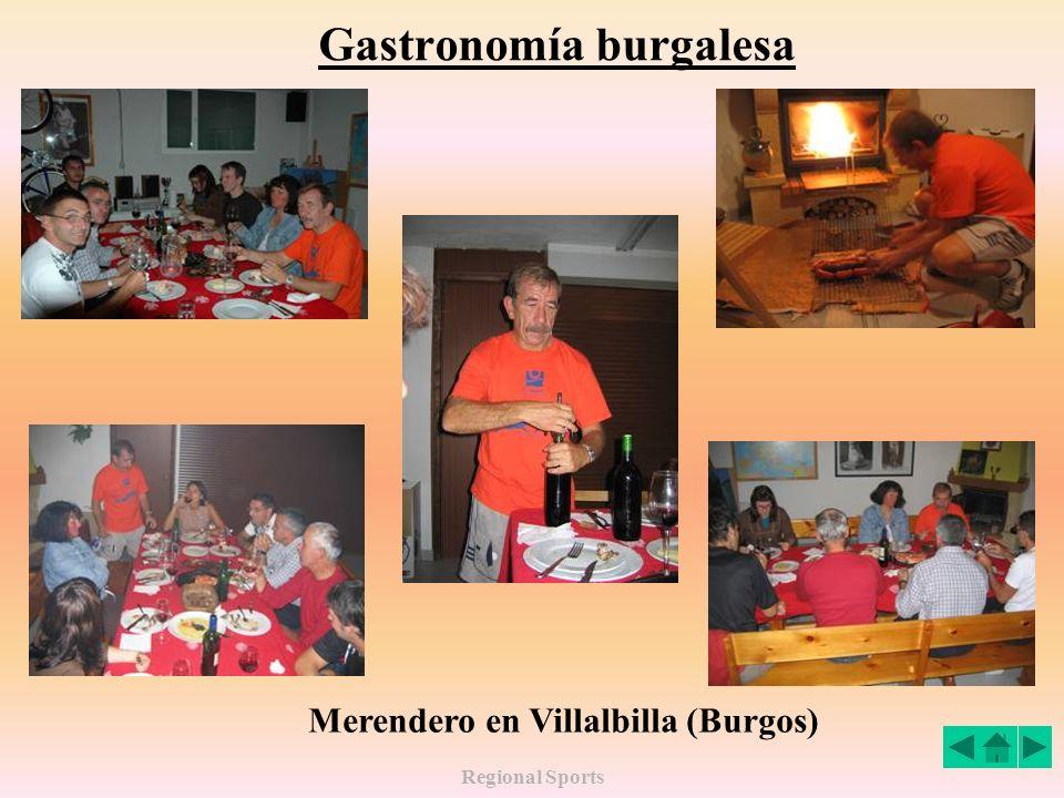 Regional Sports Gastronomía burgalesa Merendero en Villalbilla (Burgos)