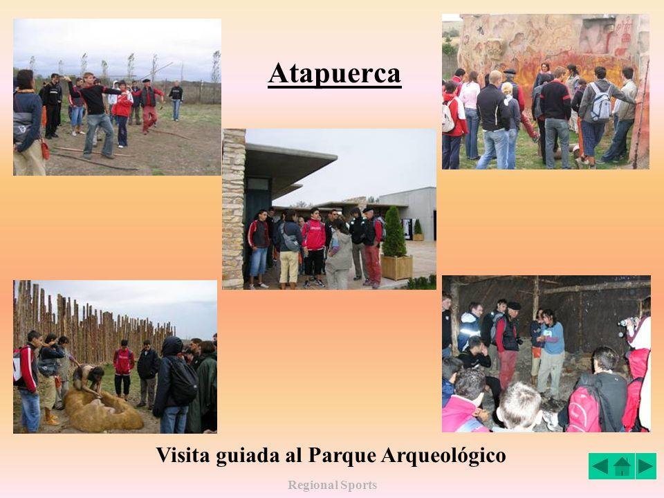 Regional Sports Atapuerca Visita guiada al Parque Arqueológico