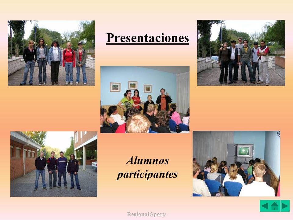 Regional Sports Presentaciones Alumnos participantes