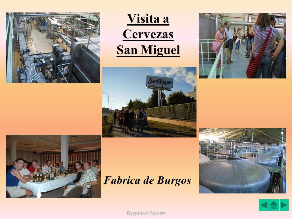 Regional Sports Turismo Visita a la ciudad de Burgos