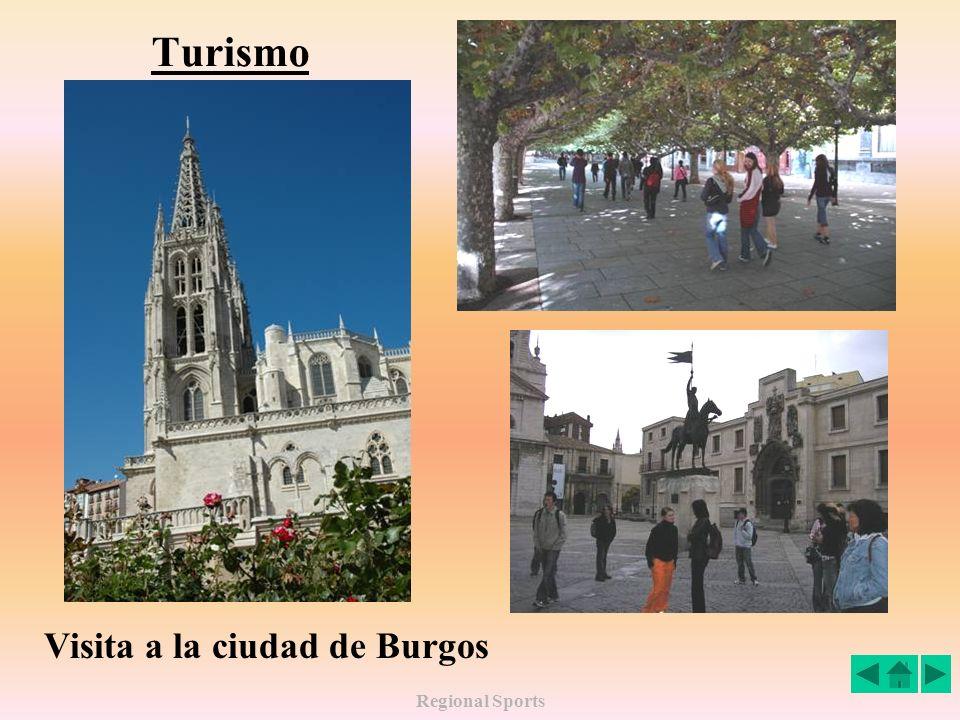 Regional Sports Visita al Arco de Santa Maria (Burgos)
