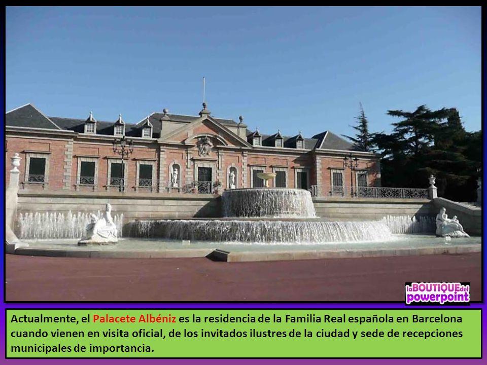 La inauguración oficial, en presencia del Rey Alfonso XIII, la Reina Victoria Eugenia, las infantas y otras autoridades, tuvo lugar el 5 de Octubre de
