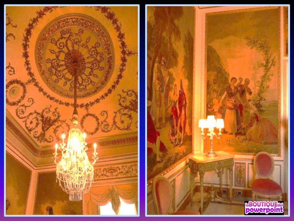 La colección de tapices de la Sala Goya.