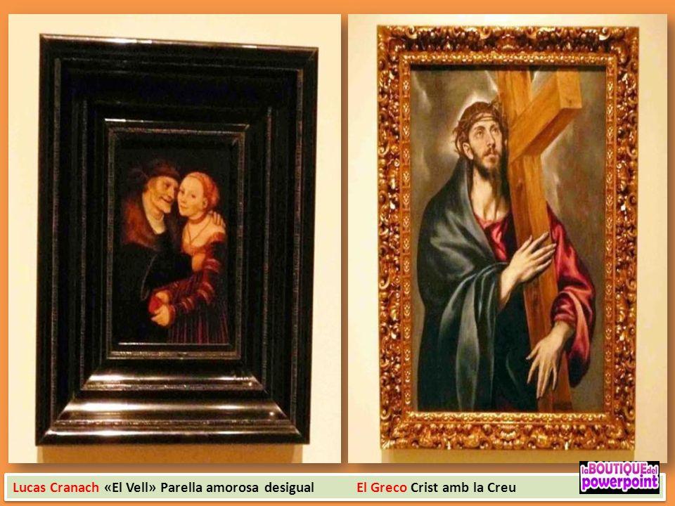 El Greco sant Joan Baptista i sant Francesc d`Assis Sant Pere i sant Pau 1590 -1600