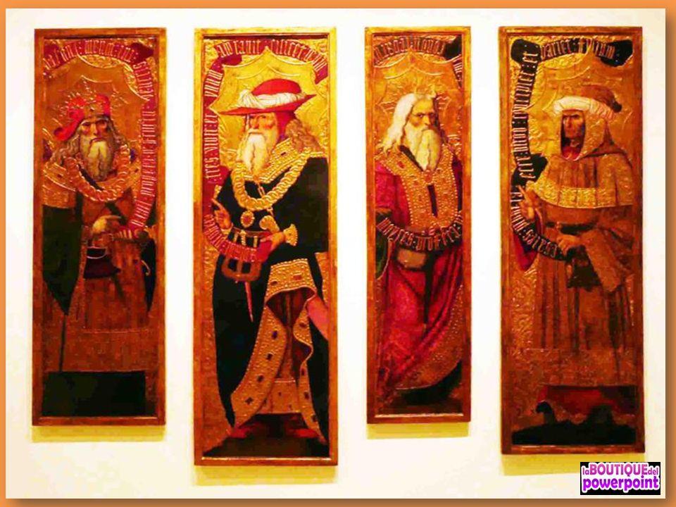 Pere Nunyes Portes del retaule de Sant Eloi 1526-1529