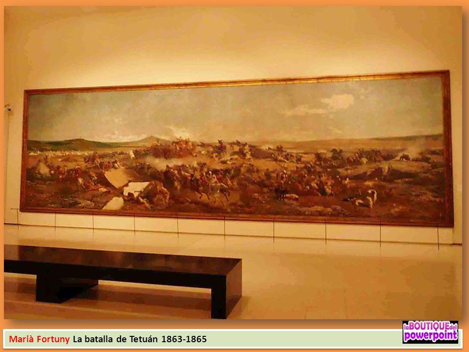 Achille Battistuzzi El Pla de la Boqueria 1873 Ramón Martí i Alsina La Cía. de Santa Bárbara 1891