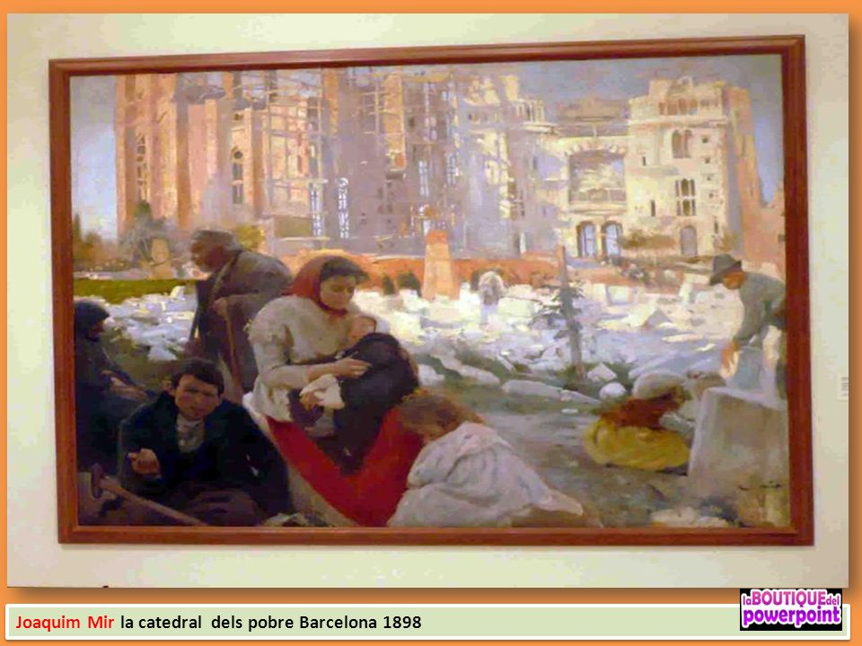 Sofá amb vitrines plafó de marquetería «La sardana» 1903 Eusebi Arnau, Lluís Domènech i Montaner amb relleu escultótic 1907