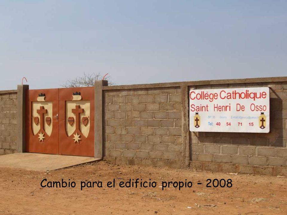 Cambio para el edificio propio – 2008