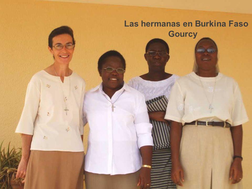 Las hermanas en Burkina Faso Gourcy