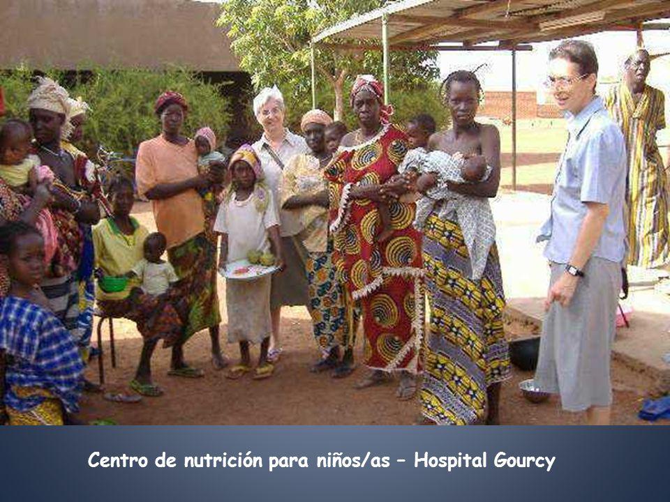 Centro de nutrición para niños/as – Hospital Gourcy