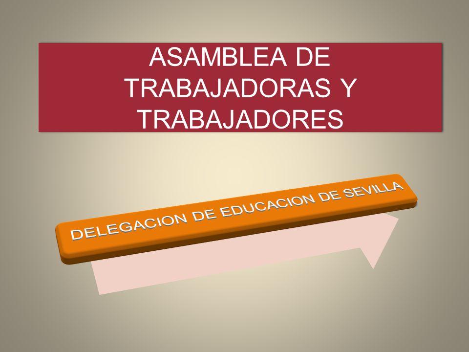 ASAMBLEA DE TRABAJADORAS Y TRABAJADORES