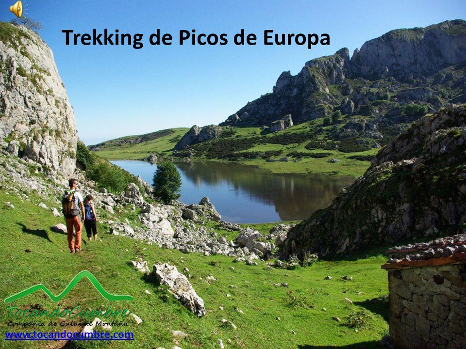 Trekking de Picos de Europa www.tocandocumbre.com