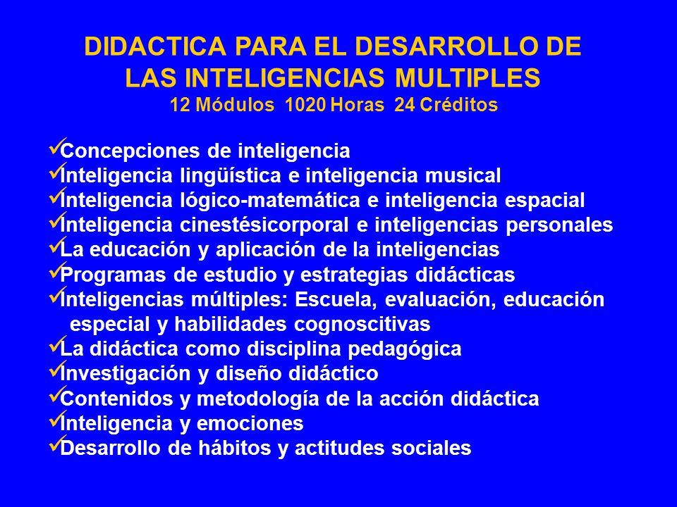 Concepciones de inteligencia Inteligencia lingüística e inteligencia musical Inteligencia lógico-matemática e inteligencia espacial Inteligencia cines