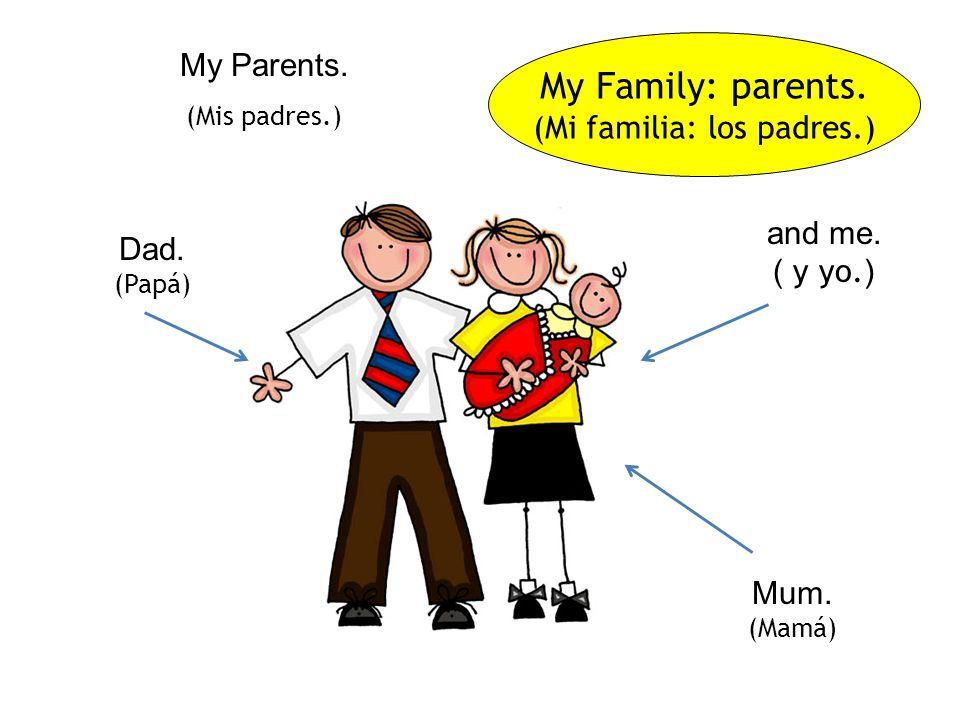 FAMILIES (Familias) Santiago Bilingual Primary School. La Línea. Spain.