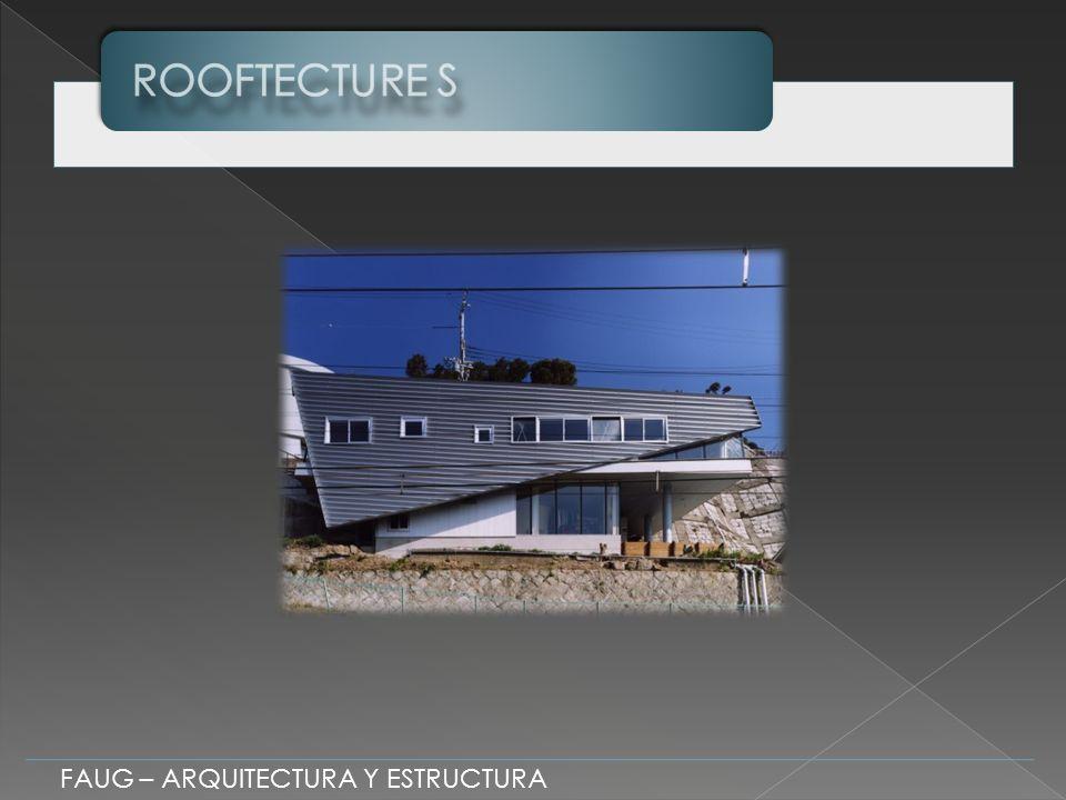 FAUG – ARQUITECTURA Y ESTRUCTURA La estructura presenta un predominio de Elementos Lineales Clasificación Estructural