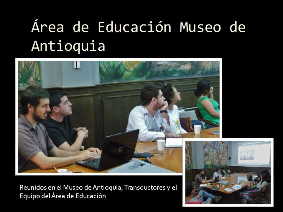 Institución Educativa Fernando Botero Salón de ArtísticaBiblioteca Rector y profesores presentando su proyecto