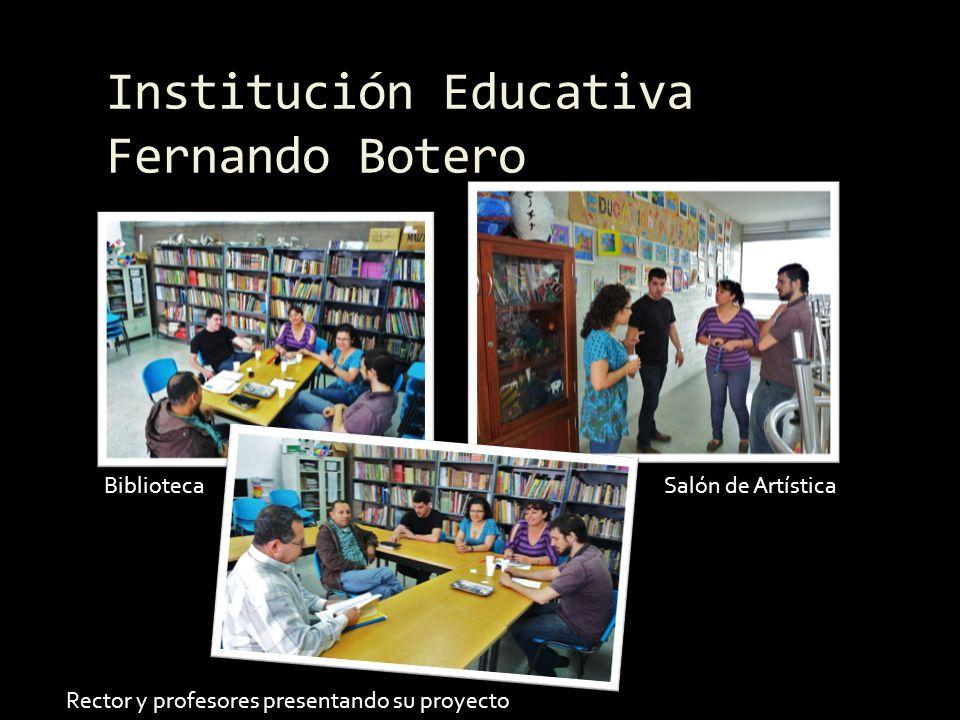 Encuentro final juntos Reunidos en el Museo de Antioquia Representantes de las instituciones Compartiendo experiencias El entusiasmo era evidente