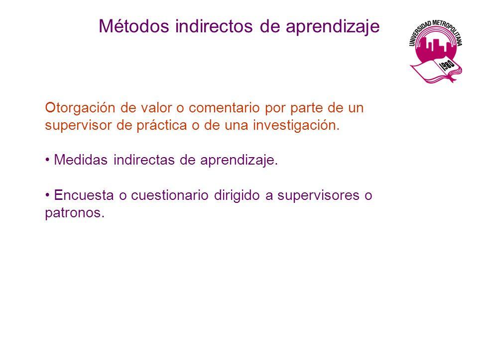 Otorgación de valor o comentario por parte de un supervisor de práctica o de una investigación.