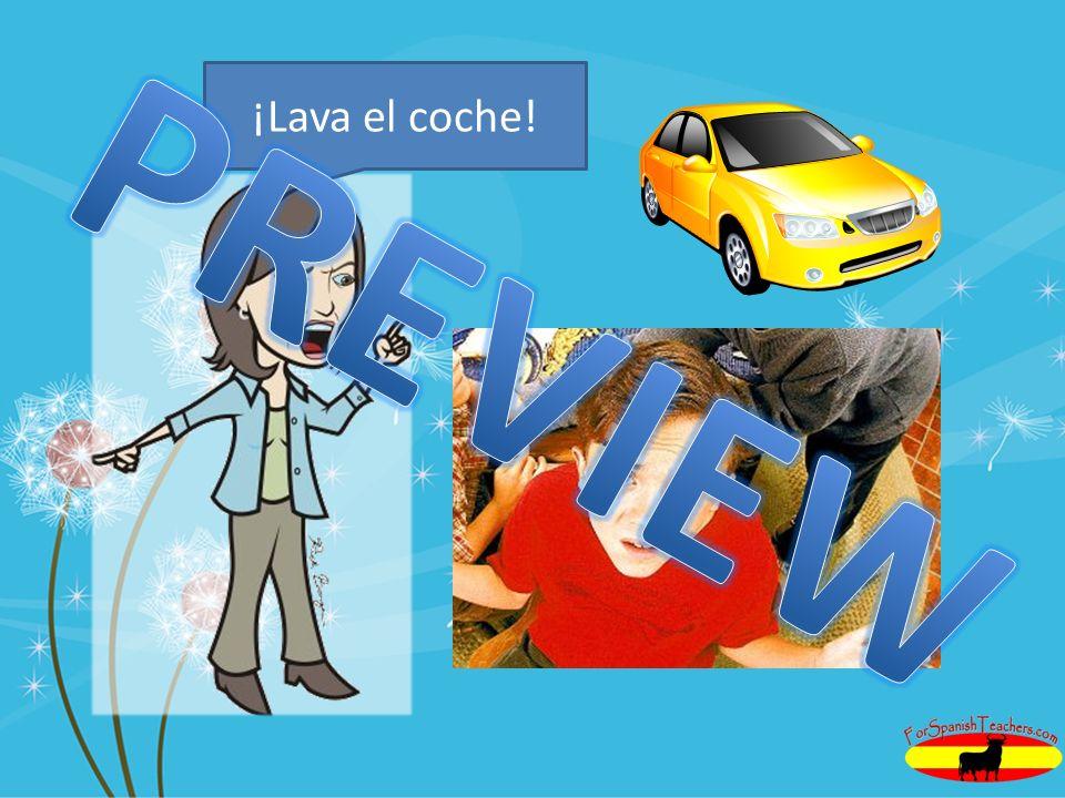 ¡Lava el coche!