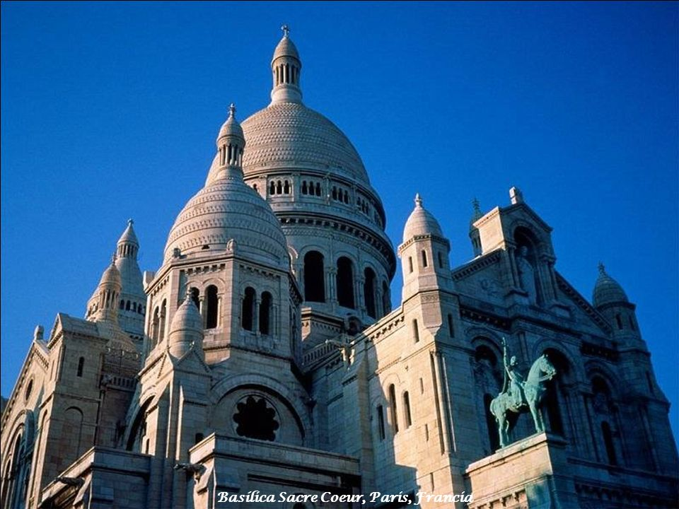 Basílica Sacre Coeur, Paris, Francia