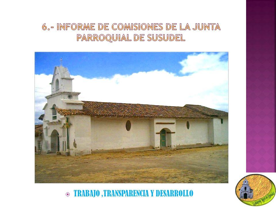 TRABAJO,TRANSPARENCIA Y DESARROLLO