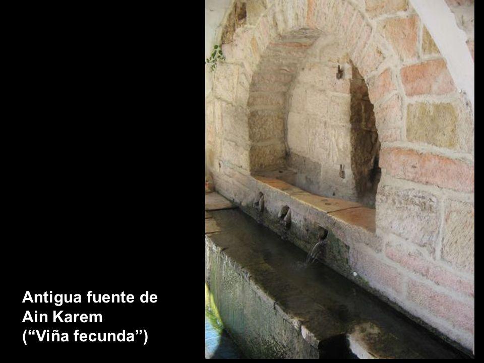 Interior de la Iglesia de la Visitación