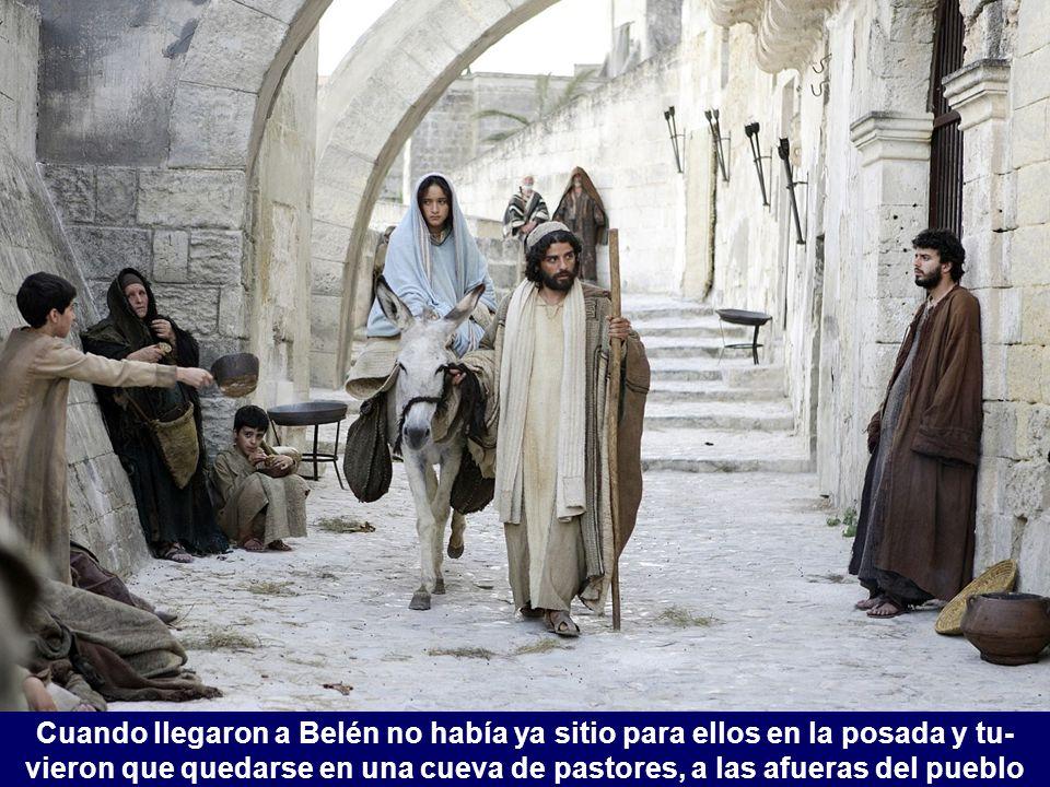 Nazaret dista de Belén unos 140 kilómetros, y los recorrerían en varias etapas, pernoctando por el camino.