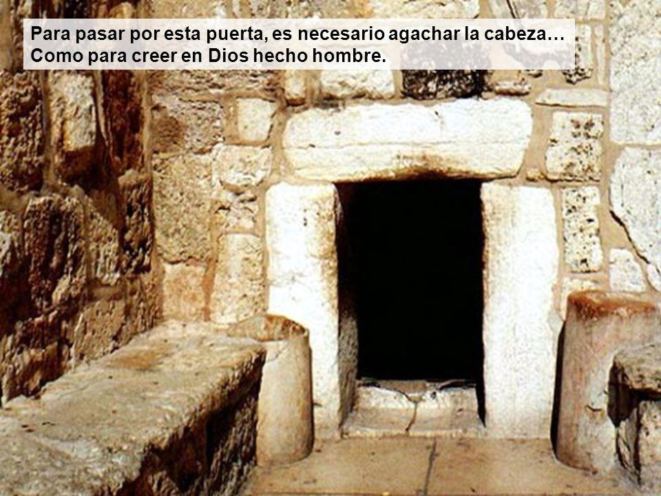 Puerta de entrada a la cueva