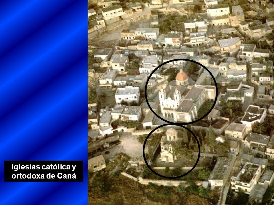 Jarrón que se guarda en la iglesia de Caná