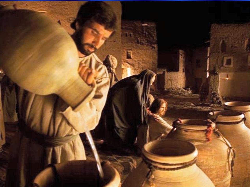 Del EVANGELIO de SAN JUAN (2, 1-11) En aquel tiempo, había una boda en Cana de Galilea, y la madre de Jesús estaba allí; Jesús y sus discípulos estaban también invitados a la boda.