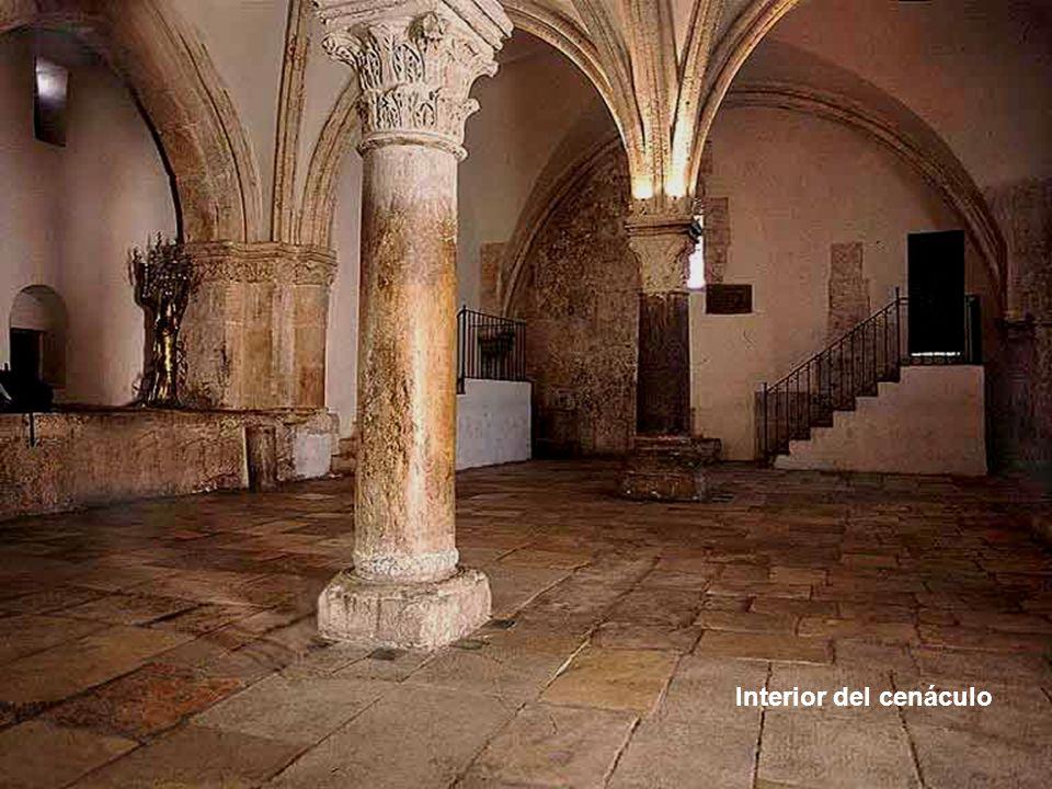 Interior del cenáculo