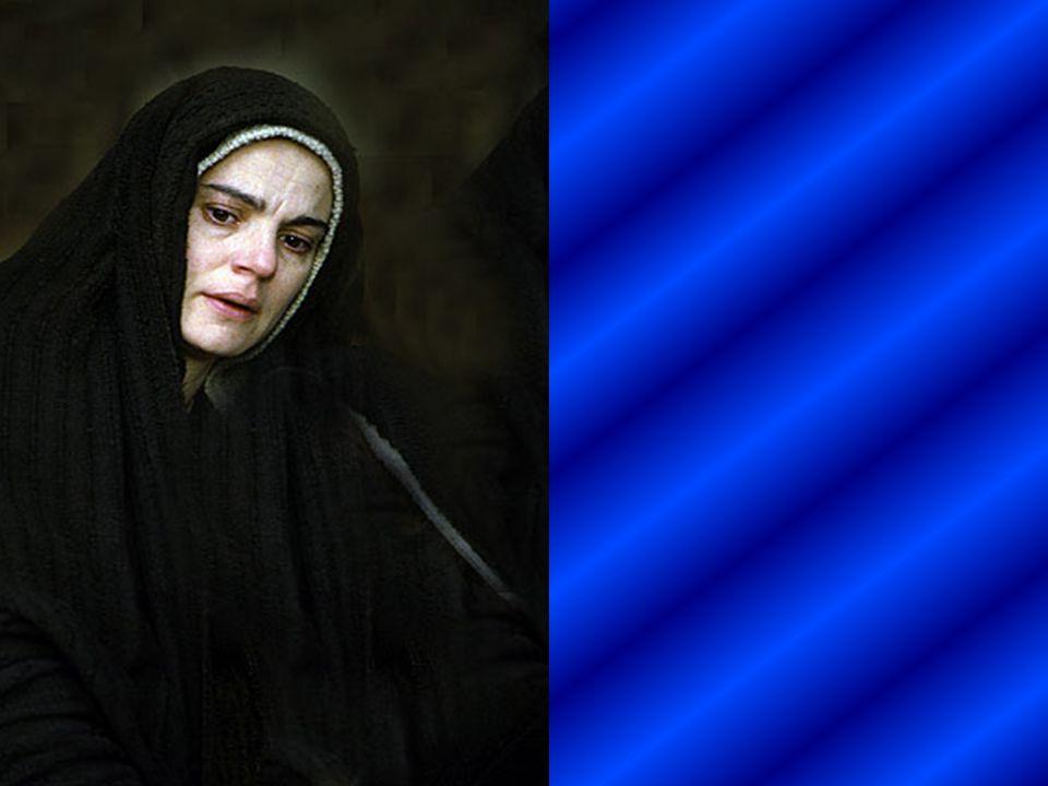 Junto a las otras santas mujeres, vio cómo lo depositaban en el sepulcro.