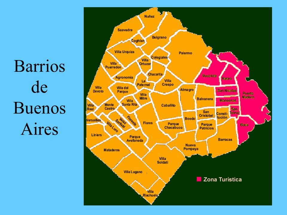 La influencia italiana en Buenos Aires Muchos italianos poblaron el área cerca del puerto.