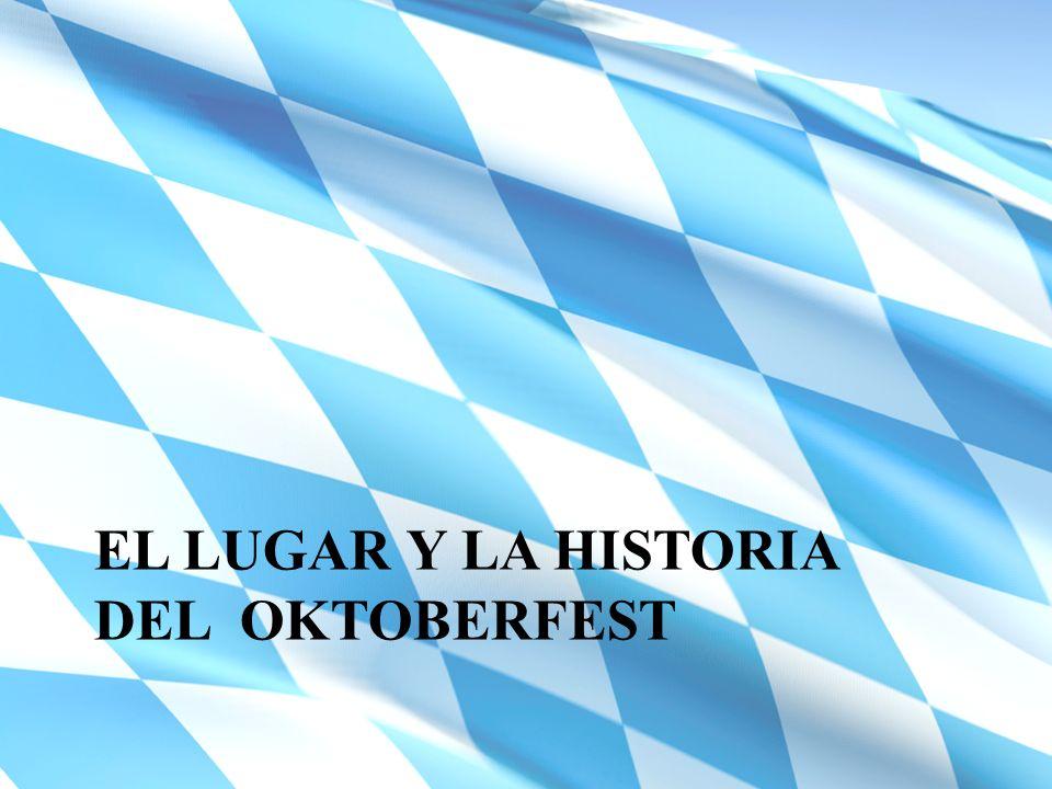 La bandera de la Baviera consiste en trapecios azules y blancos.