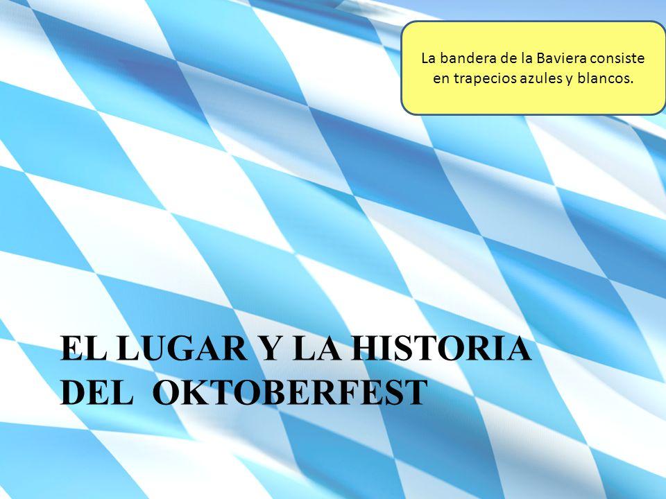 El mapa del Oktoberfest
