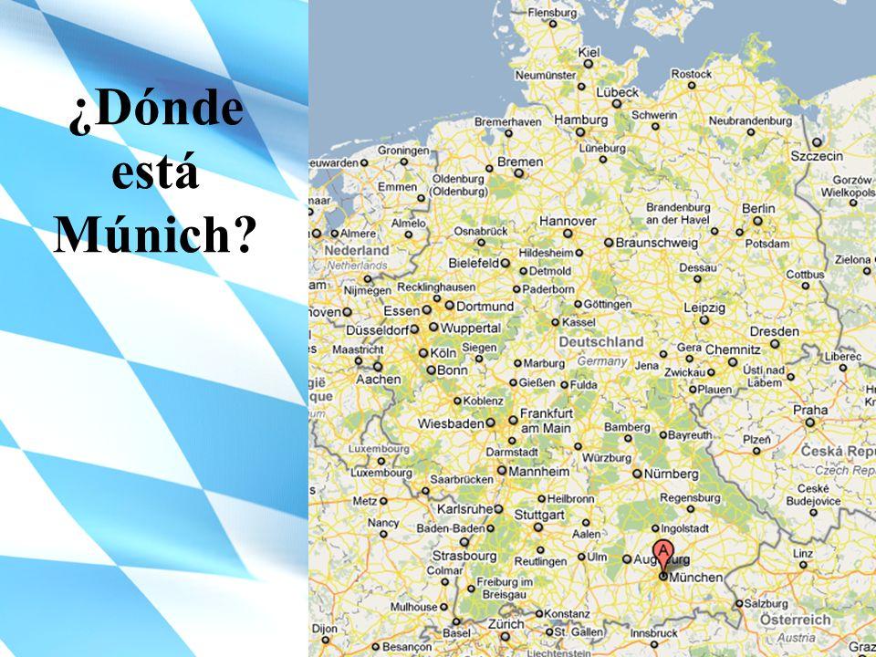 ¿Dónde está Múnich?