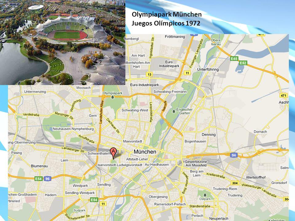 Olympiapark München Juegos Olímpicos 1972