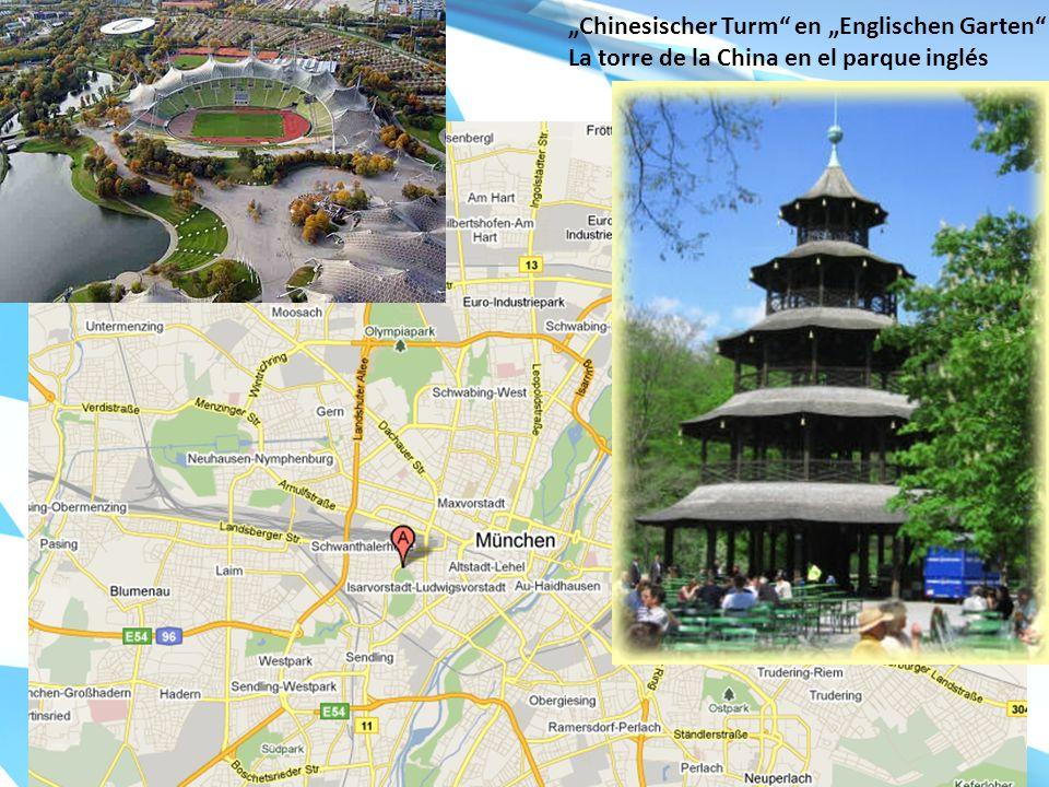 Chinesischer Turm en Englischen Garten La torre de la China en el parque inglés