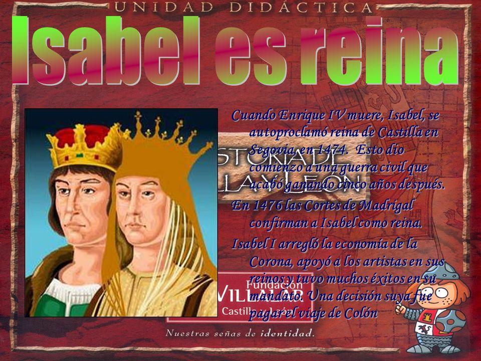 En el año 1469, Isabel se casa con Fernando, heredero de la corona catalanoaragonesa, de forma secreta, y en contra de la voluntad de casi todo el mun