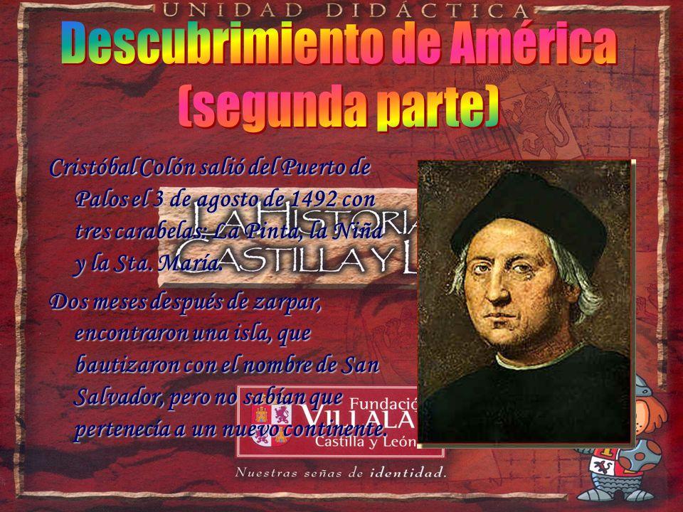Cristóbal Colón estaba convencido de que la Tierra era redonda y para demostrarlo quería viajar a China atravesando el océano Atlántico, pero nadie le