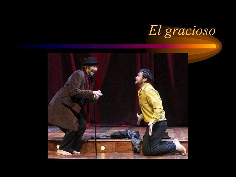 Acto I 1.¿Cómo se caracteriza el Comendador en la primera escena de la obra.