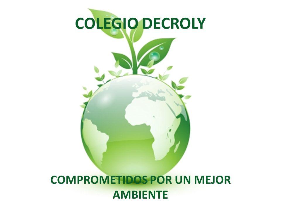 COLEGIO DECROLY COMPROMETIDOS POR UN MEJOR AMBIENTE
