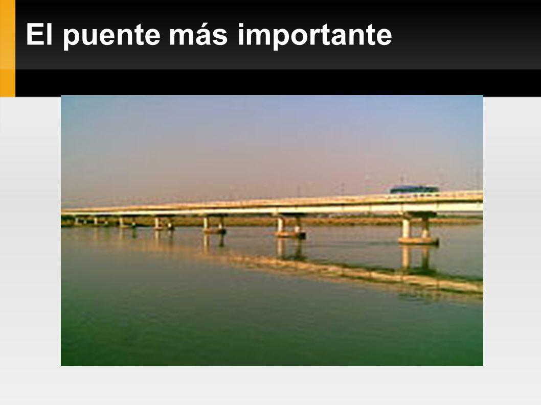El puente más importante