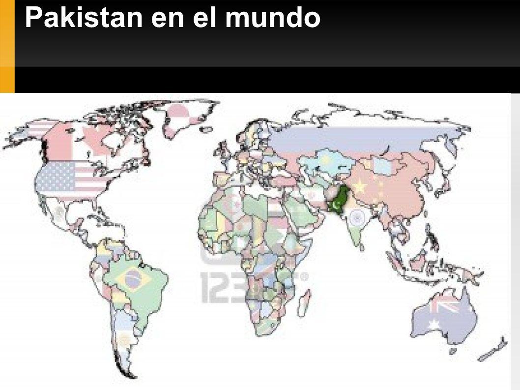 Pakistan en el mundo