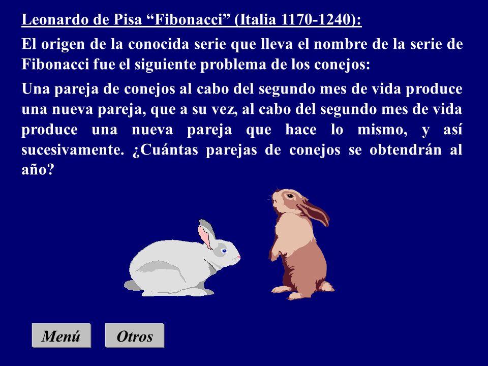 Menú Leonardo de Pisa Fibonacci (Italia 1170 -1240) Nicolo Tartaglia (Italia 1499-1577) Robert Recorde (Gales 1510-1558) Isaac Newton (Inglaterra 1642