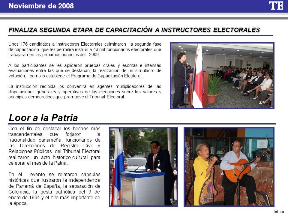 Inicio Noviembre de 2008 Misión del TE Observa elecciones en Puerto Rico Una misión del Tribunal Electoral de Panamá participó, en calidad de observadores internacionales, en las elecciones generales de Puerto Rico.
