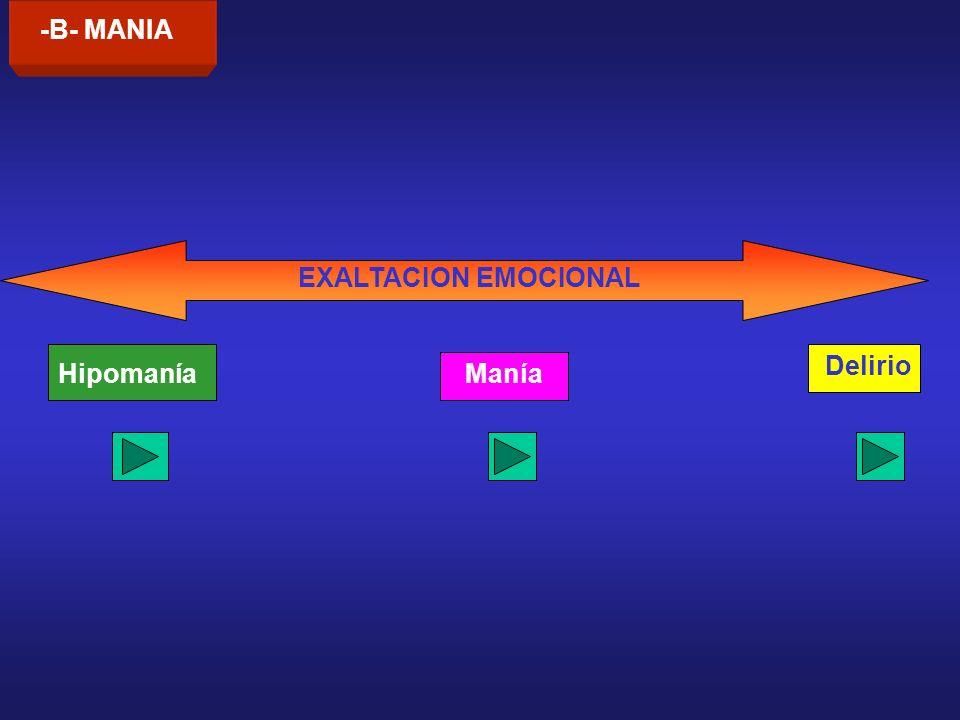 5. Manifestaciones clínicas -A- DEPRESIÓN EMOCIONALESFÍSICASINTELECTUALESCONDUCTUALES -Baja autoestima. -Tristeza. -Desamparo. -Desesperanza. -Apatía