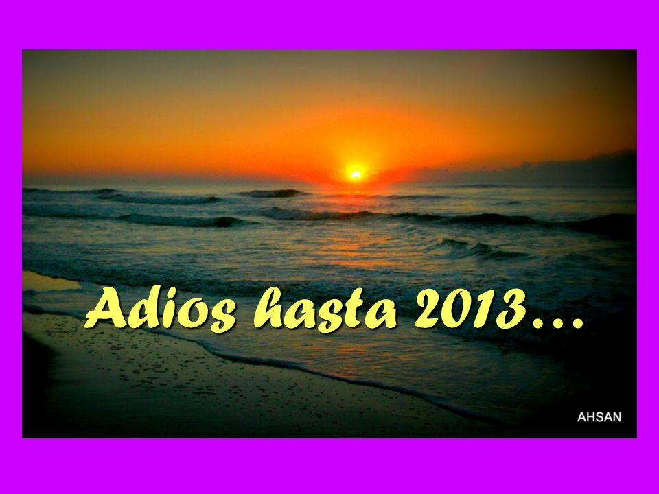 Adios hasta 2013…