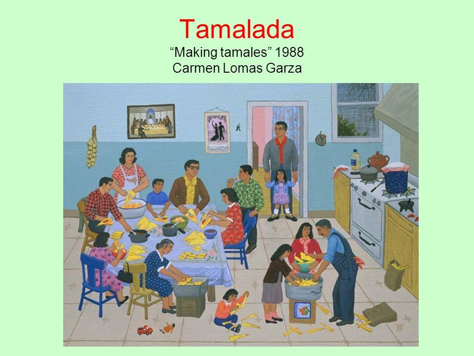TamaladaMaking tamales 1988 Carmen Lomas Garza